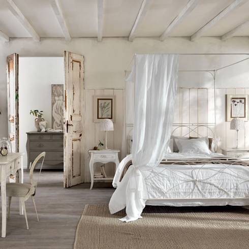 Wohnungsideen die dich zum staunen bringen - Shabby chic schlafzimmer ...