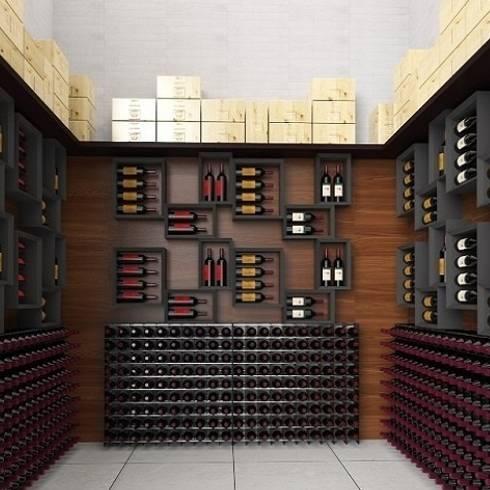 Sei idee esclusive per arredare la tua wine room for Arredamento cantina