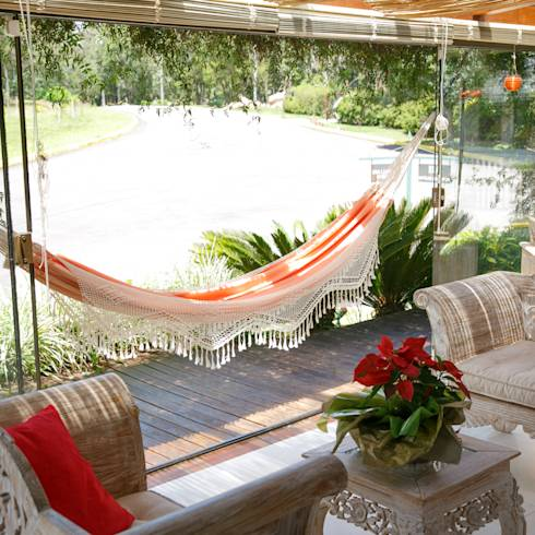 Balcones y terrazas de estilo colonial por Brasilchic