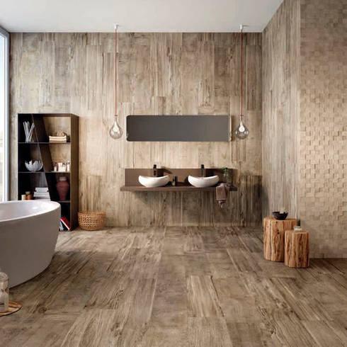 Sfeervolle wandbekleding voor elke badkamer - Badkamer kleur idee ...