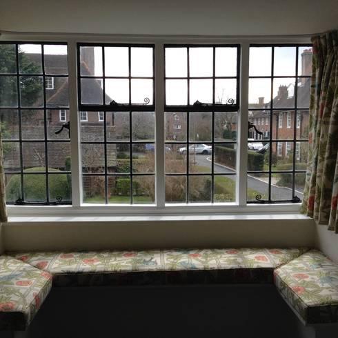 Le grate per finestre in 10 idee - Finestre stile inglese ...