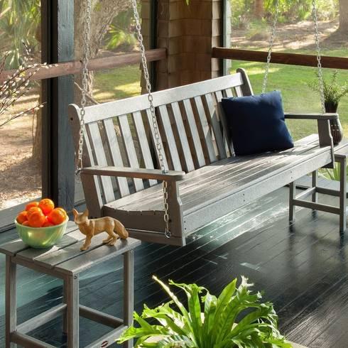 Balcones y terrazas de estilo colonial por Casa Bruno - the way to feel good