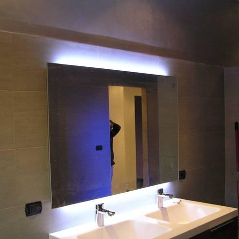 La luce per lo specchio da bagno migliore per truccarsi - Luce da specchio bagno ...