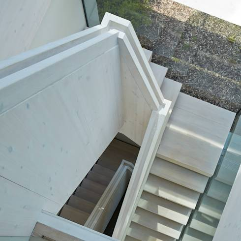 Moderne woning in een magische setting - Moderne entreehal ...