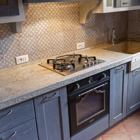 I materiali migliori per una cucina moderna - Maioliche cucina moderna ...