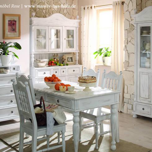10 ambienti della casa visti in stile shabby chic. Black Bedroom Furniture Sets. Home Design Ideas
