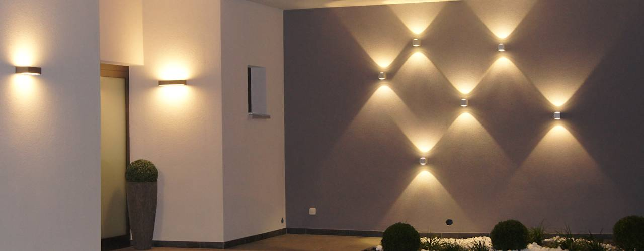 15 ideas para iluminar el exterior de tu casa y que se Lamparas para exteriores modernas