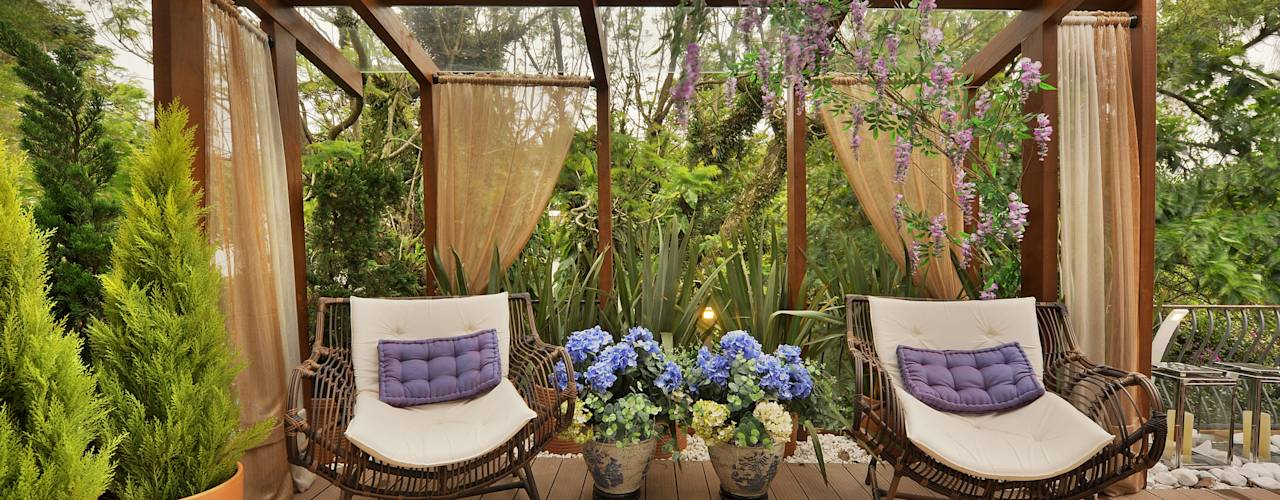 16 ideias para ter um jardim na varanda