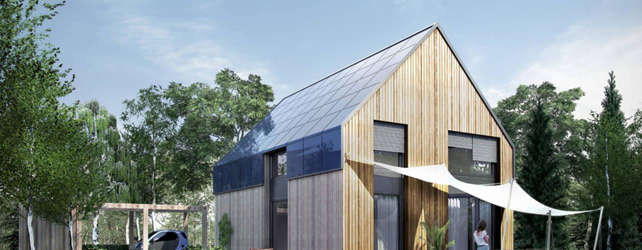 ecohome 4.2 - Typ S - Außenansicht: moderne Häuser von ecohome 4.2