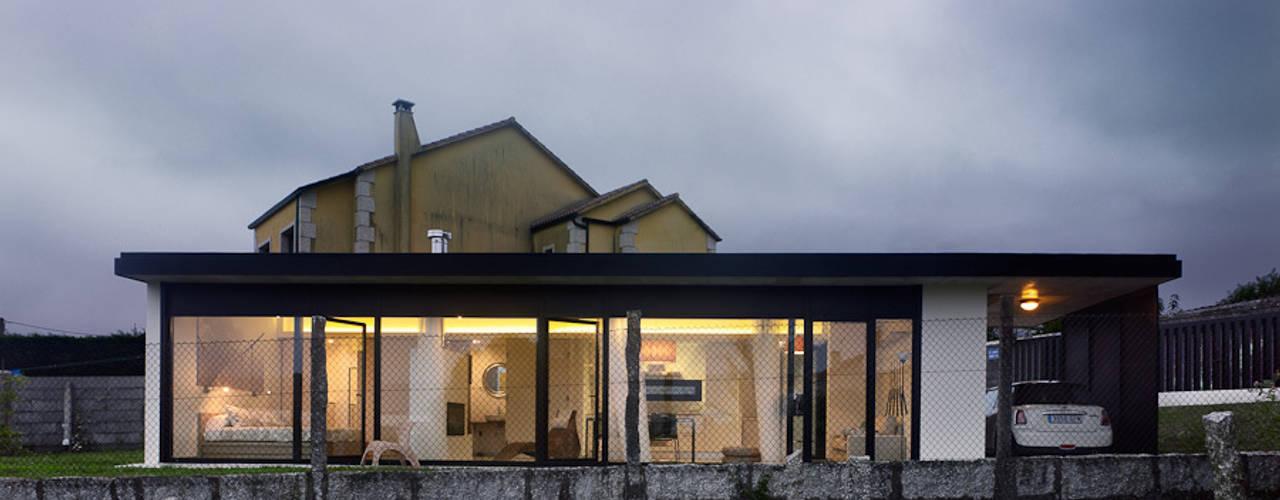 translation missing: eg.style.منازل.minimalist منازل تنفيذ Nan Arquitectos