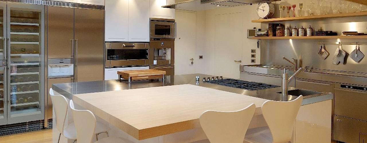 modern Kitchen by M A+D Menzo Architettura+Design