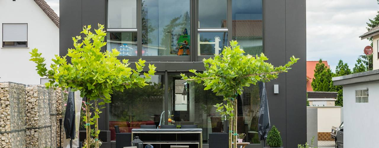 Сады в translation missing: ru.style.Сады.modern. Автор - Helwig Haus und Raum Planungs GmbH