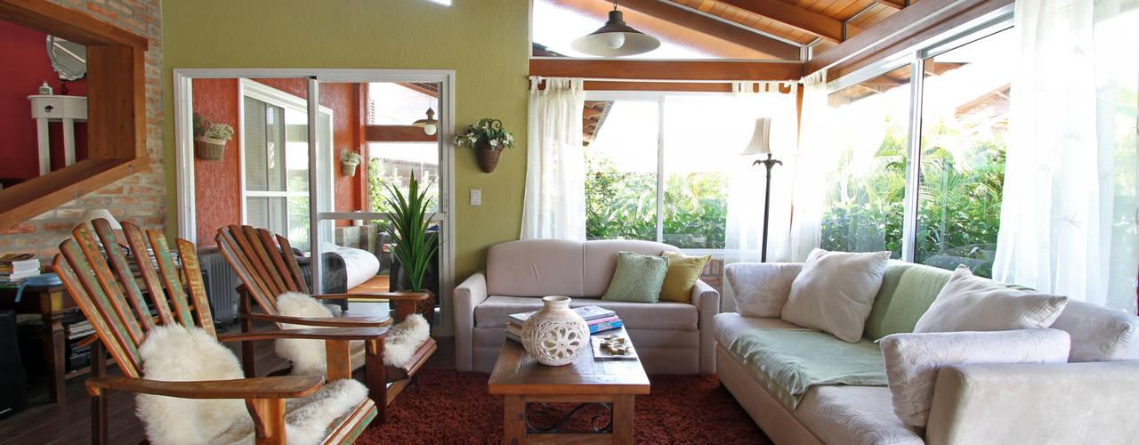 Una casetta rustica che un colpo di fulmine for Idee di veranda posteriore per case in stile ranch