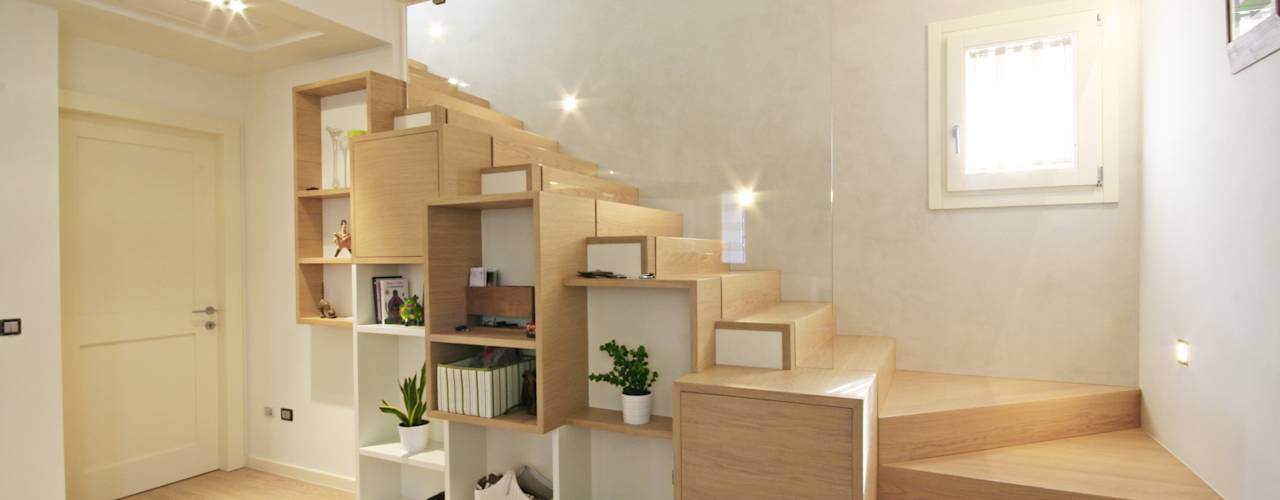 30 dise os de escaleras para casas modernas for Escaleras casas modernas