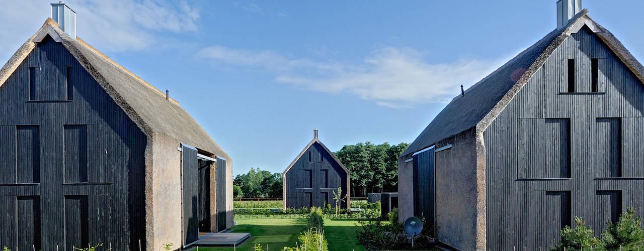 A unique trio of modern barns homes - Mohring architekten ...