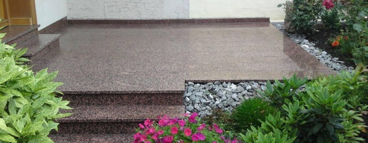 6 jardines para la entrada de tu casa peque os y bonitos - Entradas de jardines ...