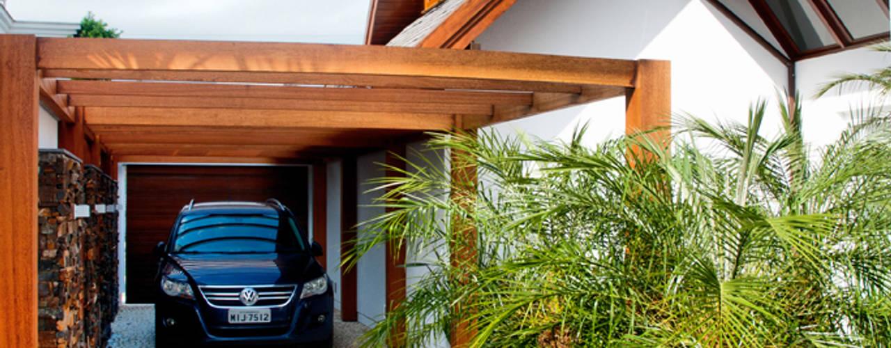 Garagens pr fabricadas homify - Techos para garajes ...