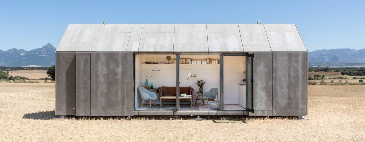Habitações translation missing: pt.style.habitações.campestre por ÁBATON Arquitectura