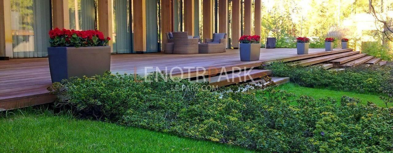 Ландшафтный дизайн LENOTR-PARK: Сад  в translation missing: ru.style.Сад-.modern. Автор - LENOTR-PARK