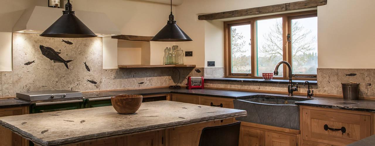 7 modern kitchen sinks with a rustic touch - Encimeras de cocina rusticas ...