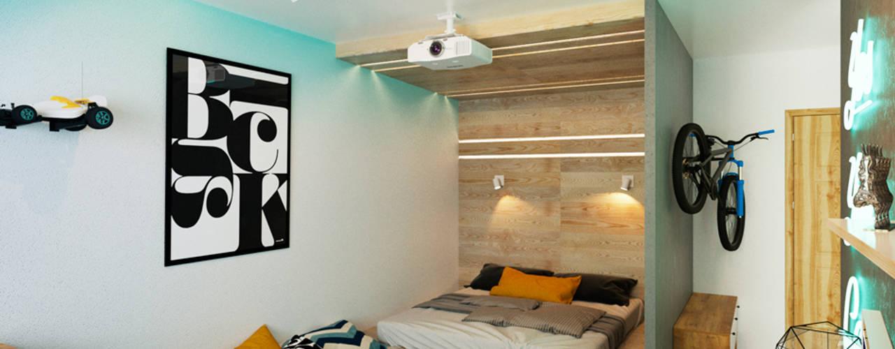translation missing: eg.style.غرفة-نوم.minimalist غرفة نوم تنفيذ IK-architects