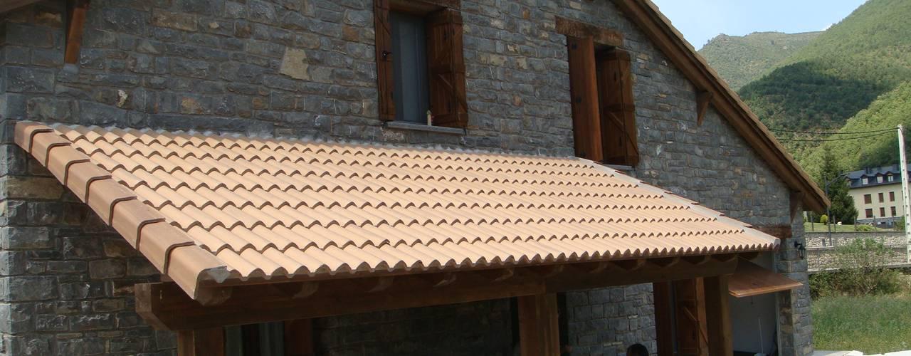 Una casa prefabbricata in stile rustico che amerete subito - Casa stile country rustico ...