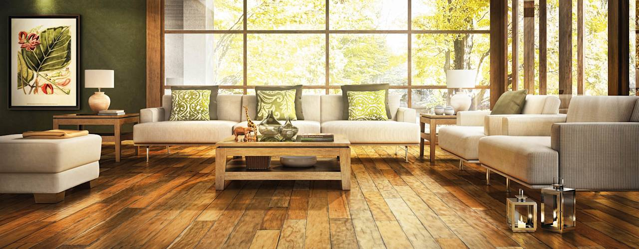 tropical Walls & floors by Timberplan