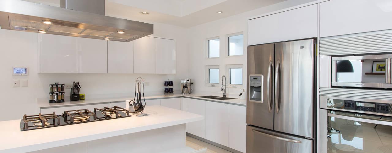 Cozinhas modernas com ilha para casas n o muito grandes - Ejemplos cocinas pequenas ...