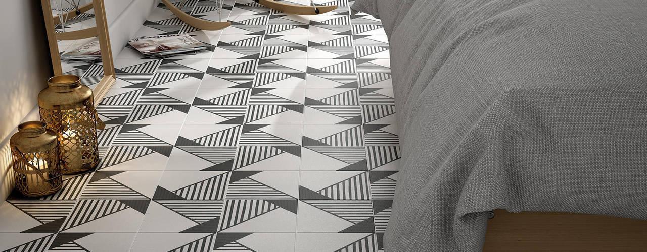 Projekty, skandynawskie Ściany i podłogi zaprojektowane przez Nais!