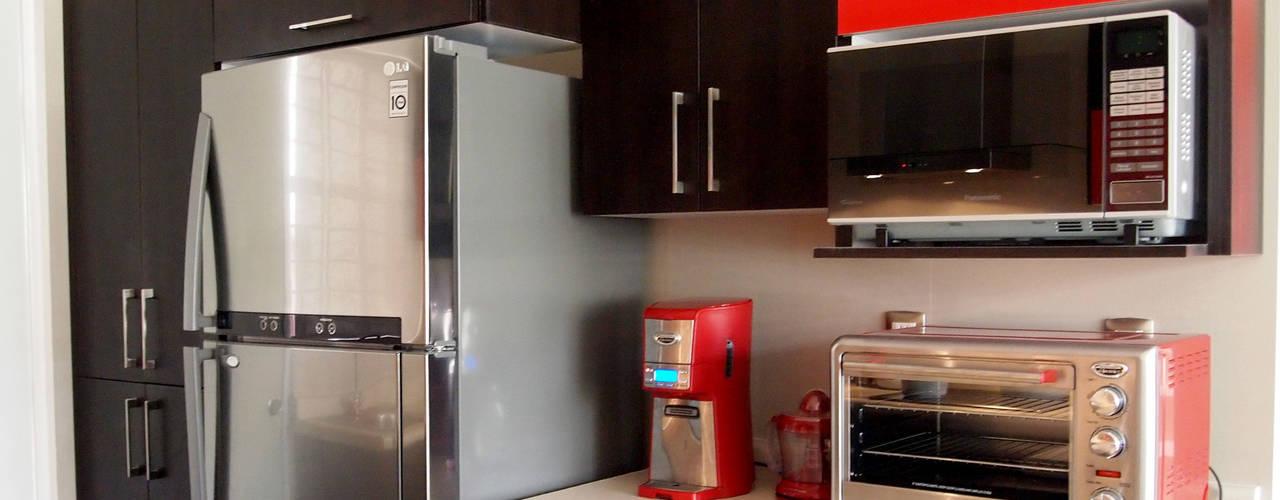 8 cozinhas pequenas com boas ideias para decorar a sua Cocinas y hornos electricos