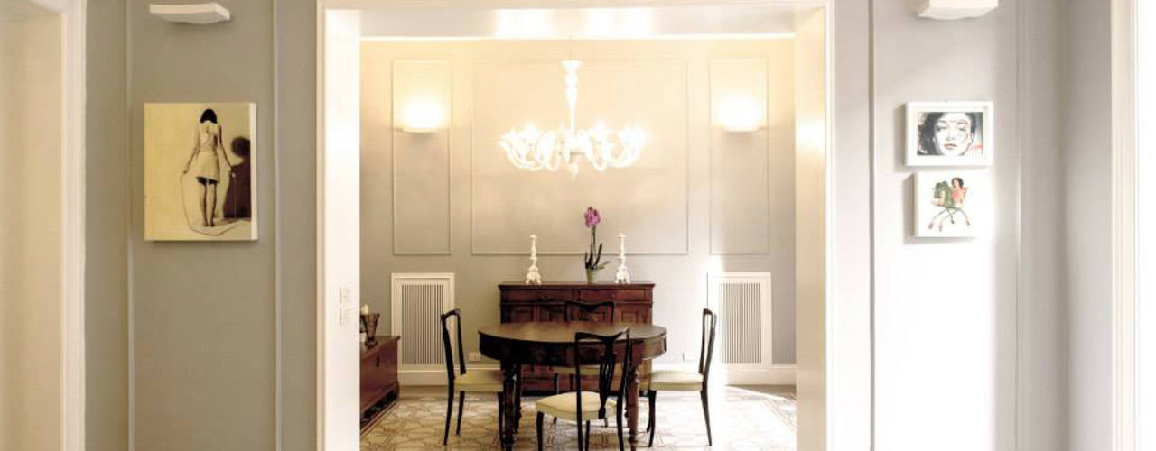 6 elementi necessari per una casa in stile classico moderno for Casa stile classico