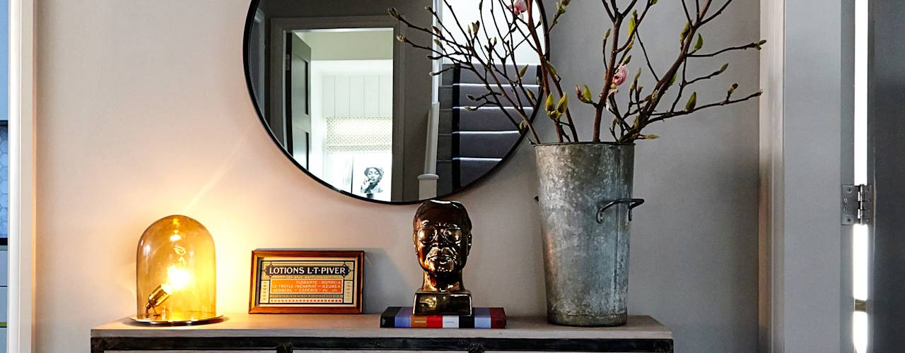 Коридоры, прихожие, лестницы в translation missing: ru.style.Коридоры-прихожие-лестницы.modern. Автор - Studio Duggan