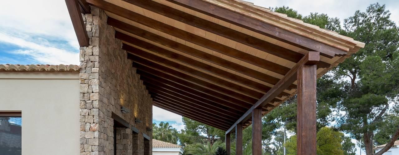 10 terrazas r sticas que te van a encantar for Terrazas rusticas techadas