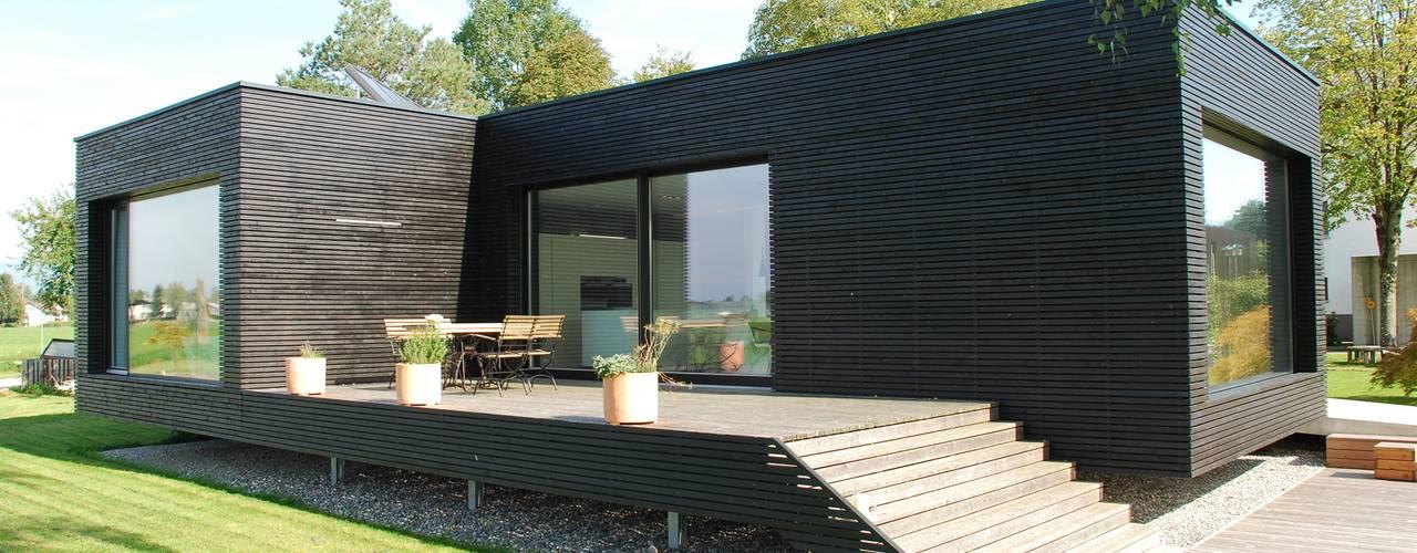 Une maison moderne pr fabriqu e o emm nager d s demain for Maison moderne prefabriquee