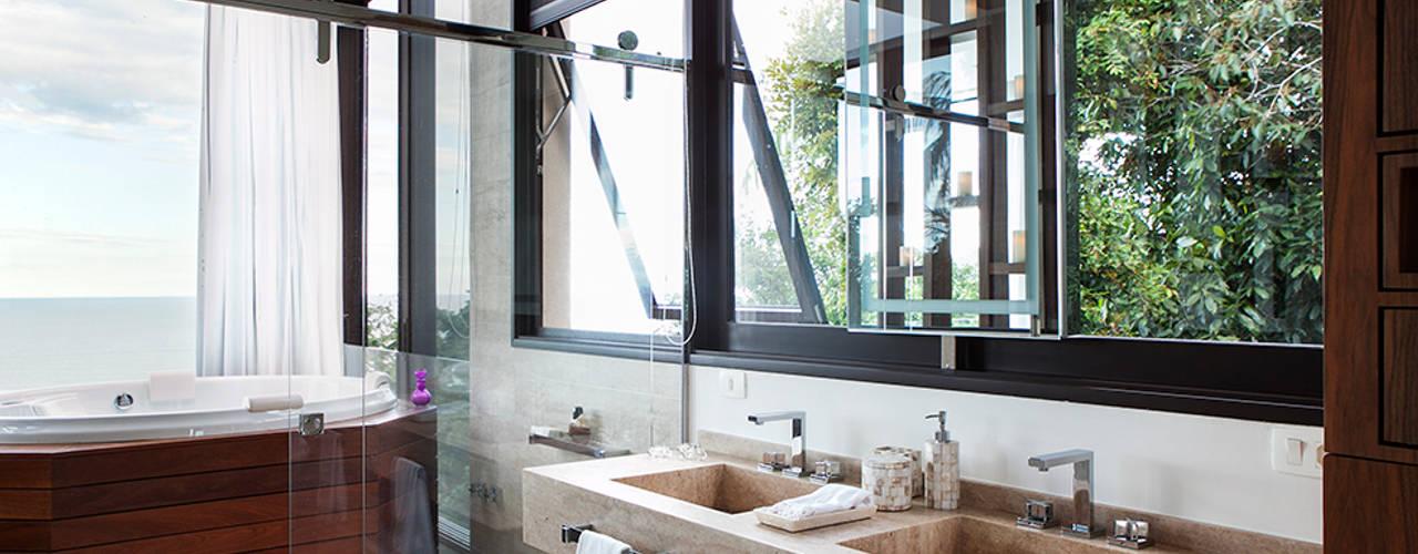 Ванные комнаты в translation missing: ru.style.Ванные-комнаты.modern. Автор - Infinity Spaces