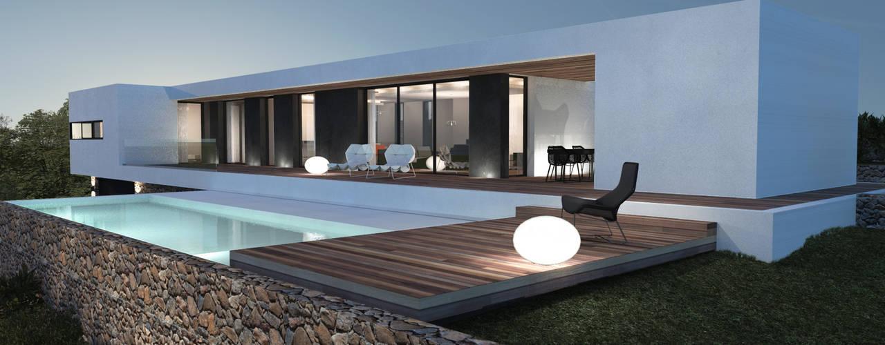 20 raisons d 39 opter pour une maison toit plat. Black Bedroom Furniture Sets. Home Design Ideas