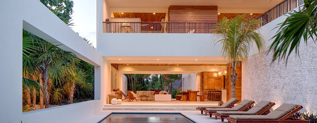 21 fachadas con balcones y terrazas que te inspirar n a - Disenar tu casa ...