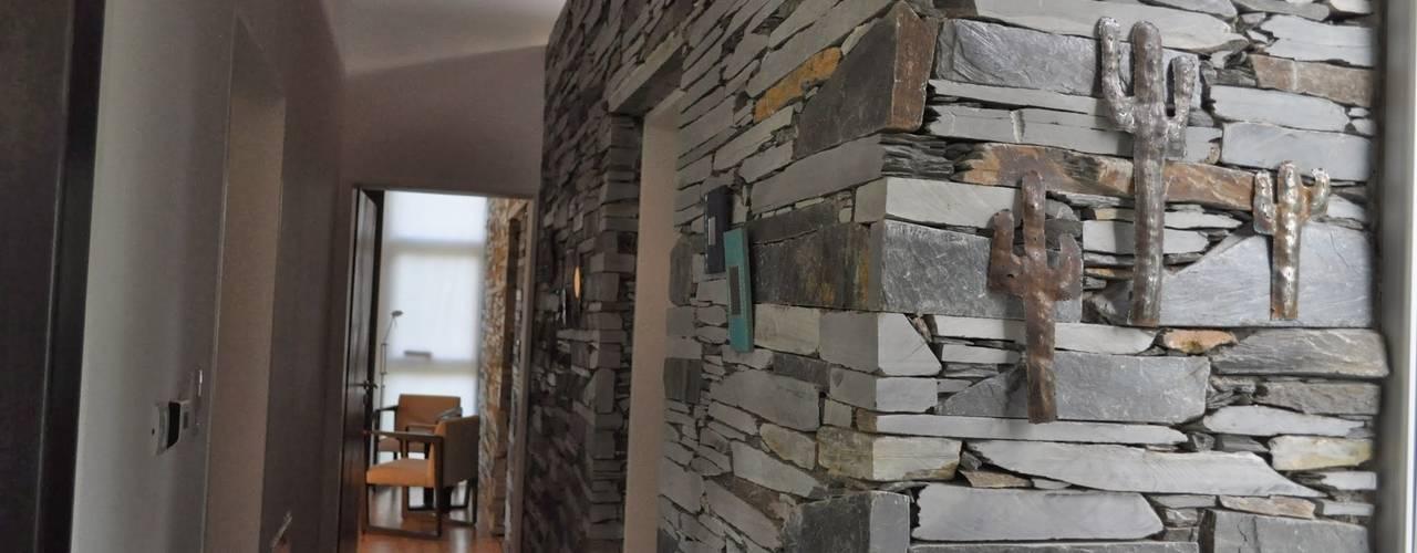 15 ideas para revestir tus paredes con piedra laja - Piedras para revestir paredes ...