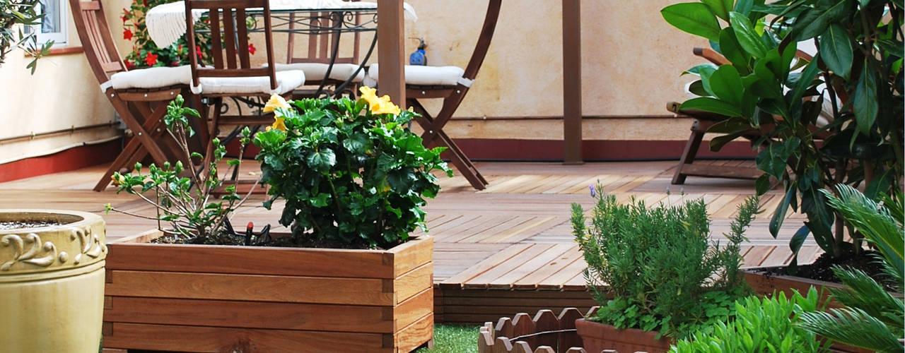 16 jardineras perfectas para espacios peque os for Jardineras para interiores