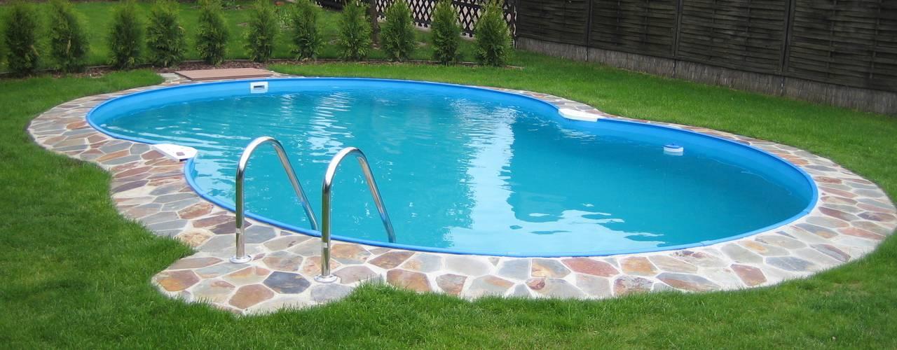 C mo instalar una piscina de fibra de vidrio en el patio - Vidrio para piscinas ...