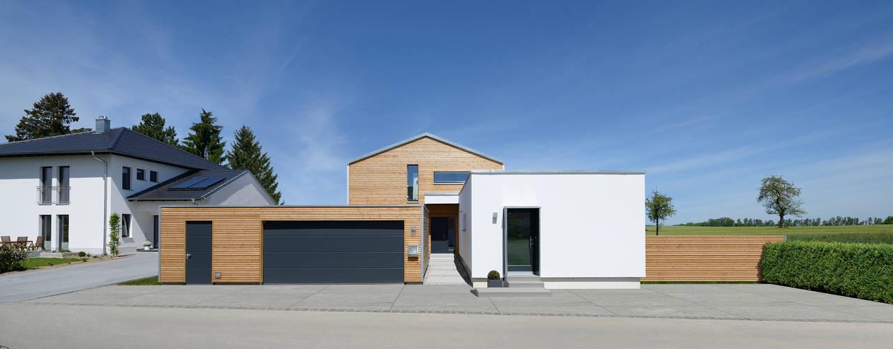 Wohngesundes Raumklima im Ökohaus: moderne Häuser von Bau-Fritz GmbH & Co. KG