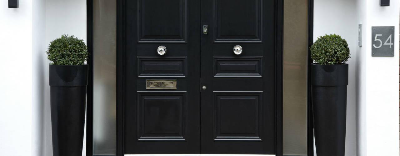 Puertas de madera homify for Puertas principales modernas