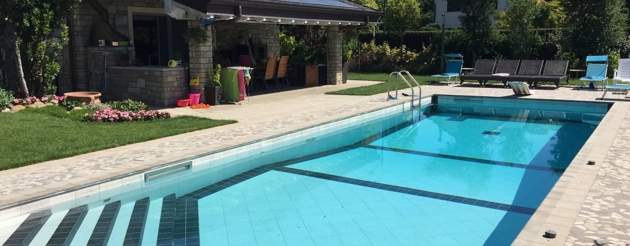 5 esempi di piscina piccola in giardino - Piscina interrata piccola ...