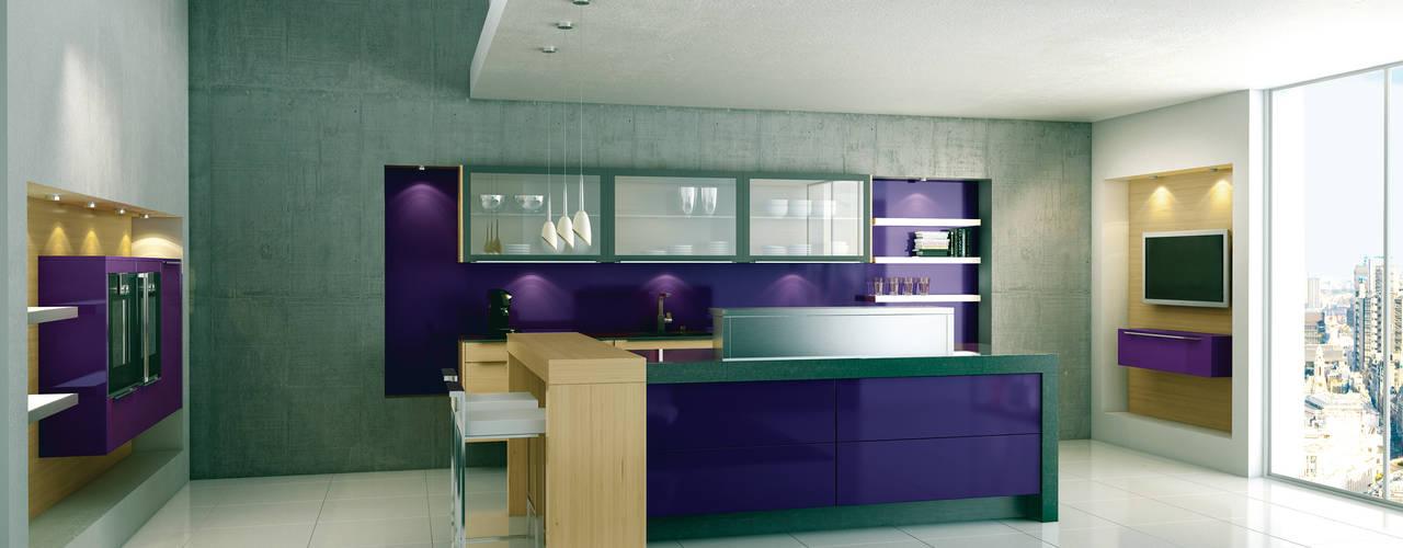 Немецкие кухни Beckermann: Кухня в translation missing: ru.style.Кухня.minimalizm. Автор - Немецкие кухни