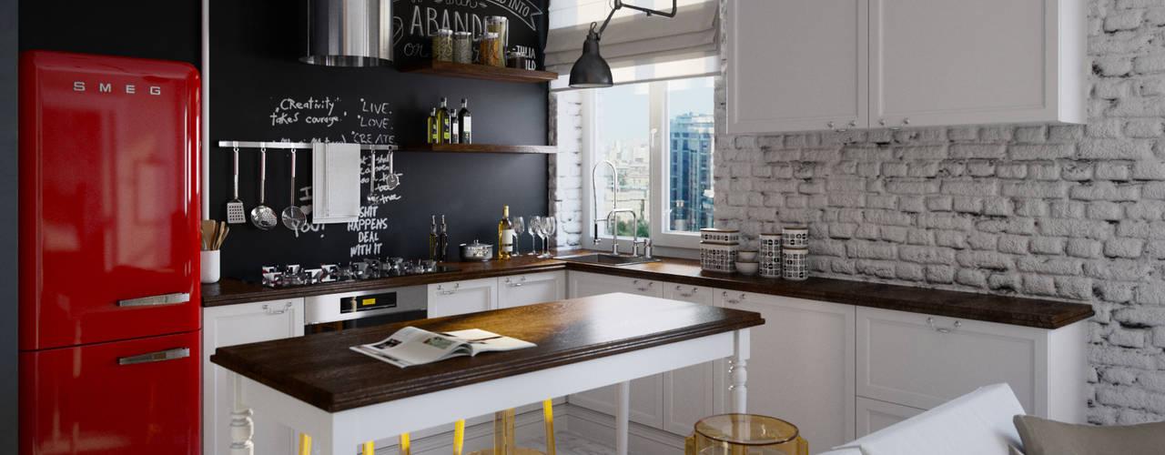 Leuke idee n voor de muren van je keuken for Planos de cocinas 3x3