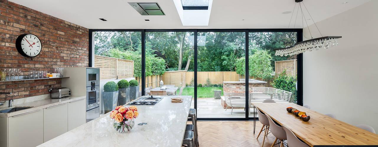 10 casas con grandes ventanales que debes ver antes de for Ventanales living comedor