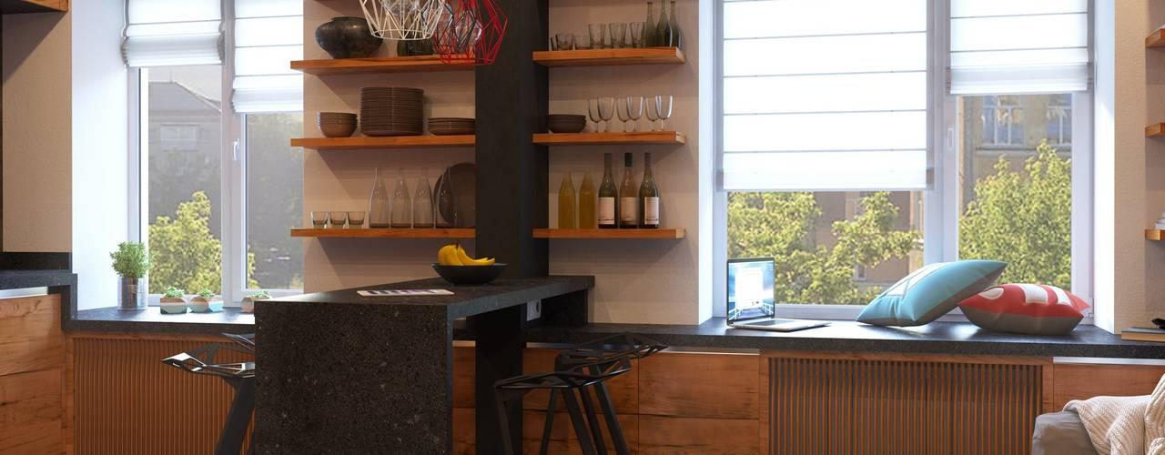 8 mal k cheninsel jedes mal anders. Black Bedroom Furniture Sets. Home Design Ideas