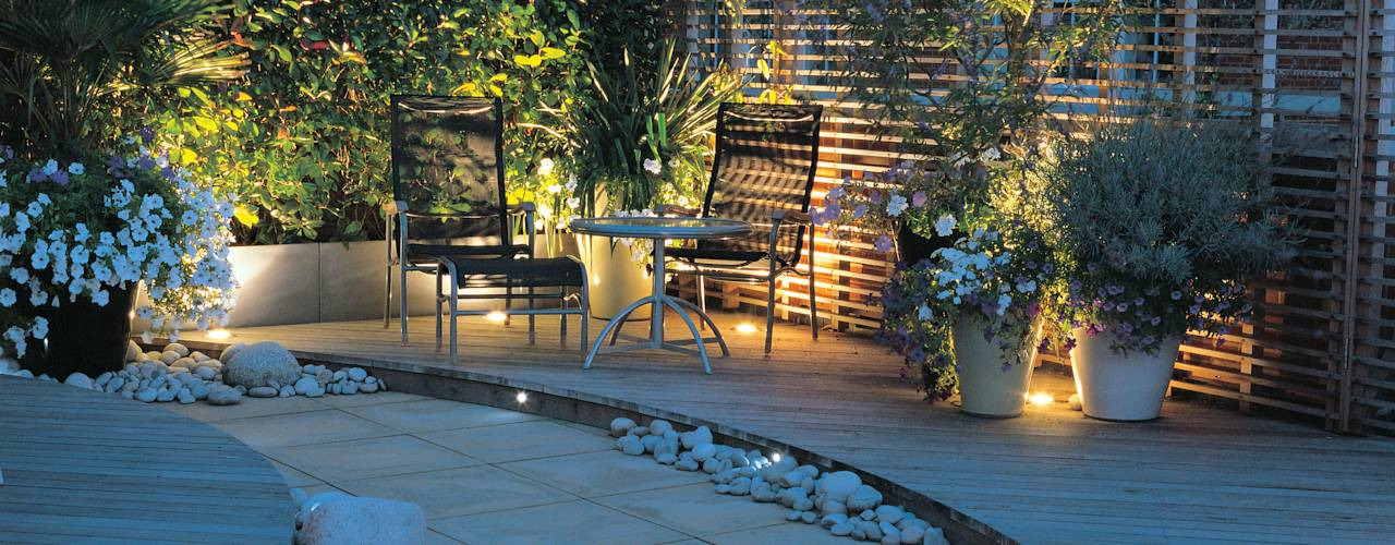 13 jardineras de concreto perfectas para decorar patios y for Patios y terrazas