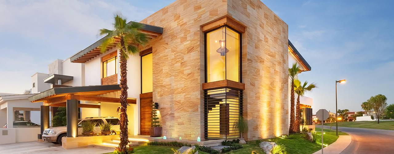 10 casas de dos pisos por arquitectos mexicanos for Casa minimalista rojo