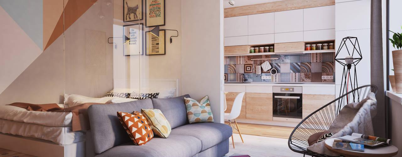 9 piccoli appartamenti progettati splendidamente da for Piccoli appartamenti